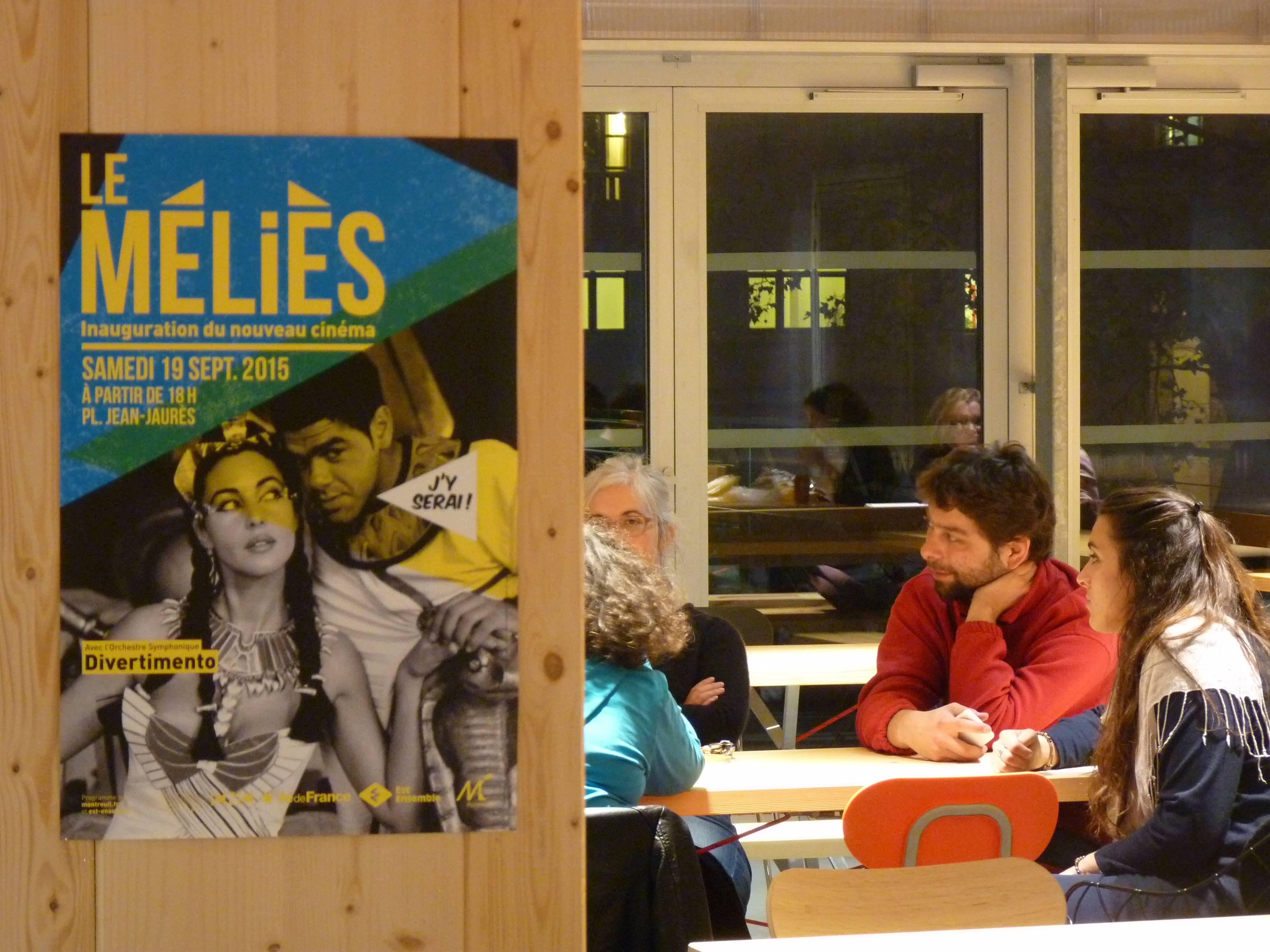 La FabU, le restaurant du Cinéma Méliès à Montreuil (93)