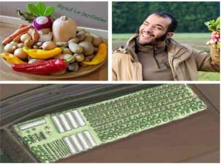 Créons ensemble des espaces pédagogiques à la ferme de Ryad Le Jardinier